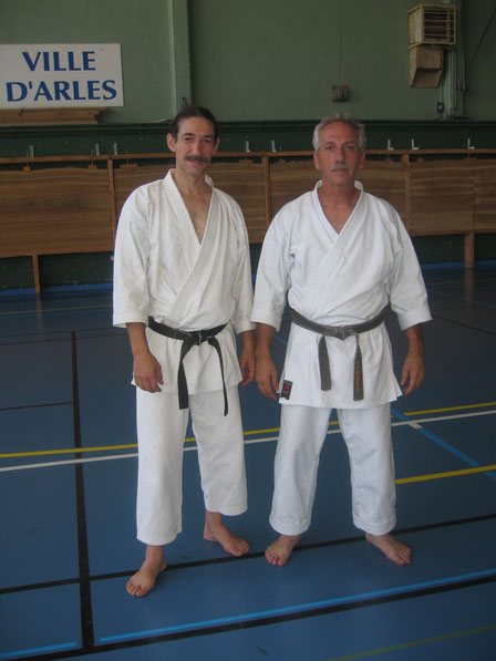 Con mi gran amigo el Sensei Toni Conrado.
