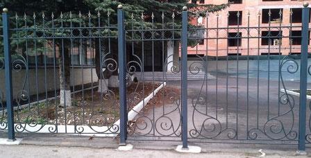 Металлические заборы в городе Одинцово