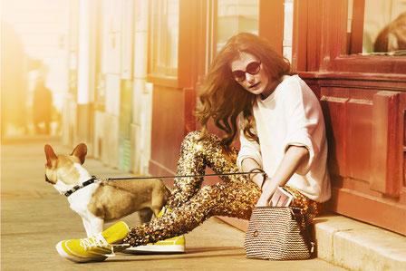 fashion shoot, Street style à la Fashion Week