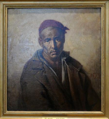 Vasily Perov (1834-1882) : portrait d'un prisonnier kirghiz