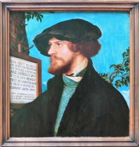 Hans Holbein le jeune : portrait de Bonifacius Amerbach, 1519