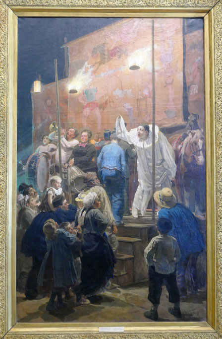 Victor Vasnetsov (1848-1926) : acrobates