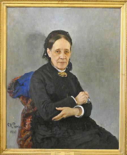 Ilya Repin (1844-1930) : portrait de N.V. Stassova