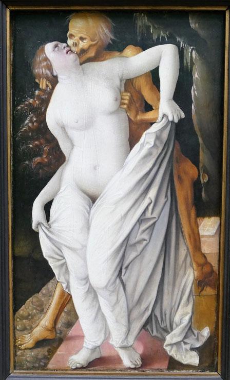 Hans Baldung dit Grien : la mort et la femme, 1520-25