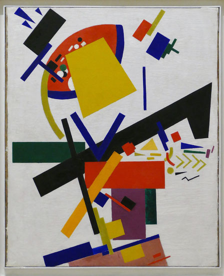 Kazimir Malevich (1879-1935) : suprématisme