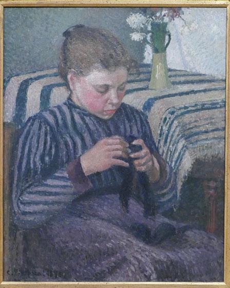 Camille Pissarro : la couturière, 1895