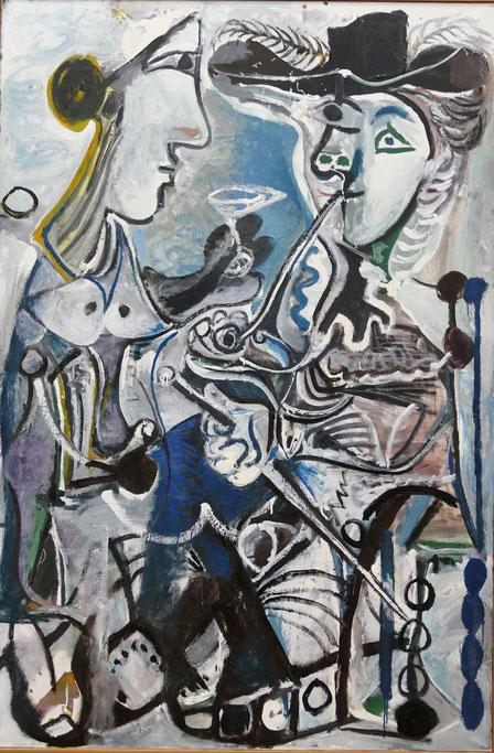 P. Picasso : le couple, 1967