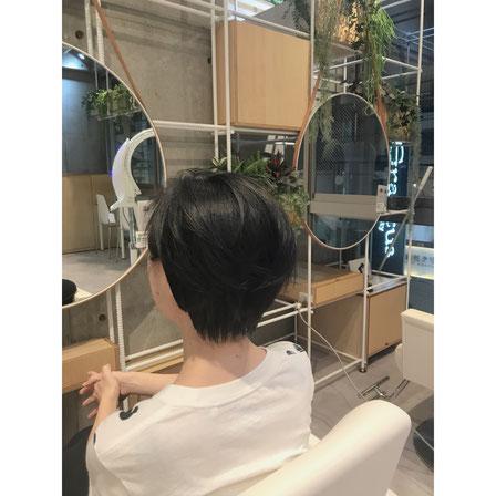 横浜 石川町 美容室 ヘアドネーション  ショートスタイル