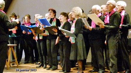 Chants le jour de la Galette 2013