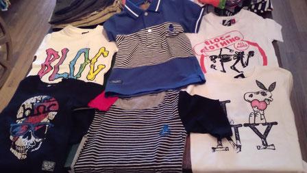 BLOCのTシャツよかっこいいわね!レディースサイズもあるわよ!