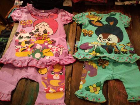 グラグラのガールズパジャマよ!3990円よ!ズボンを別の服にしたら普通に私服ね!