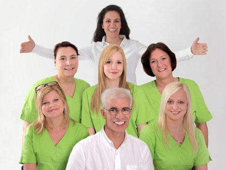 Empfang Zahnarztpraxis Immel in Groß-Umstadt: Wurzelbehandlung