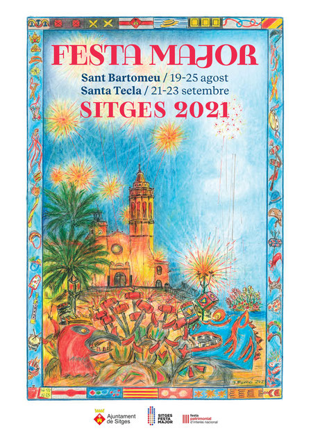 Festa Major de Sitges 2015 Cartel y Programa