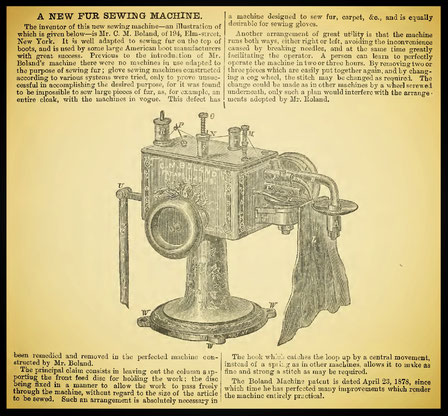 The Sewing Machine Gazette 1881