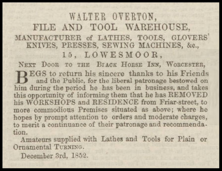 Worcestershire Chronicle - 15 December 1852