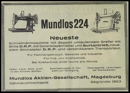 Mundlos 224  (1929)