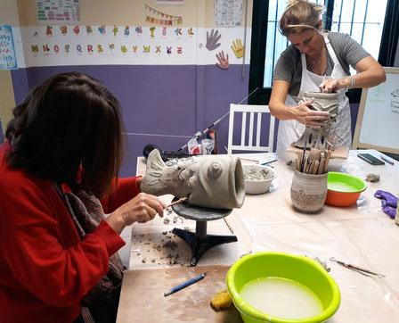 Taller cerámica mari orikasa
