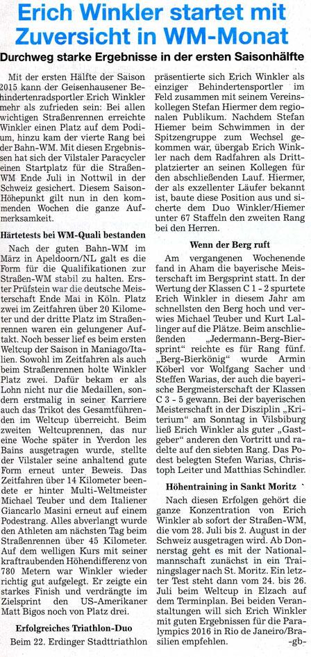 Quelle: Landshuter Zeitung 02.07.2015