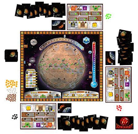 Terraforming Mars zum Kennerspiel des Jahres 2017 nominiert