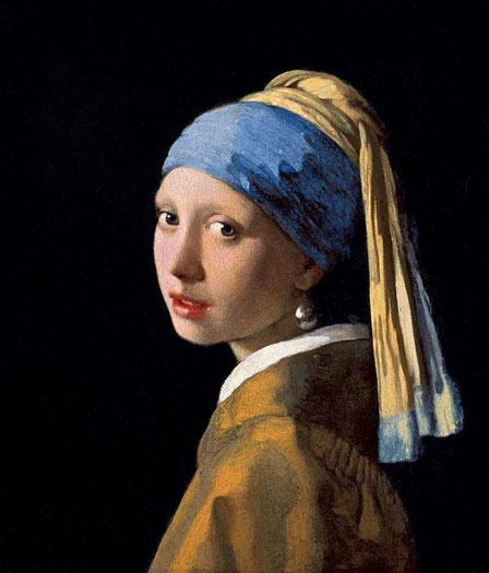 Самые известные картины Вермеера - Девушка с жемчужной сережкой