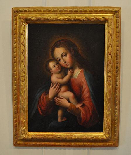 Rogliano-Eg.Sant'Agnellu-Vierge de tendresse-17e s.