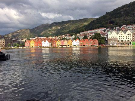Die Bryggen in Bergen
