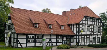 Bürgerhaus mit dem Cafe DELSUL