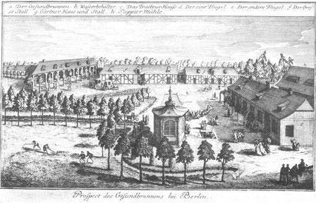Das Heilbad um 1770