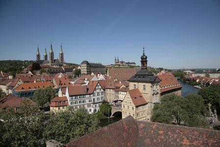 Blick über Bamberg -  Quelle: Archiv des Bamberg Tourismus & Kongress Service
