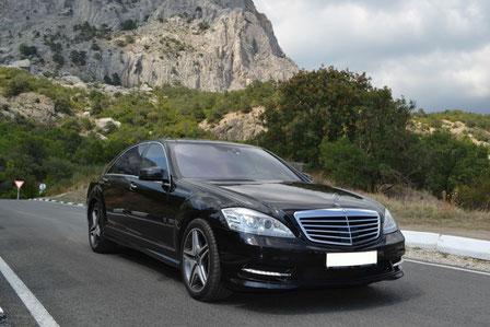 Аренда Mercedes W221 в Крыму