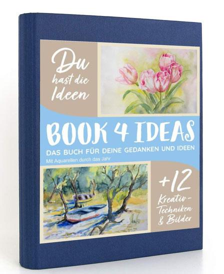 Notizbuch, Tagebuch, Buch für Projekte, Buch für Ideen, Buch zum malen, Buch für Gedanken