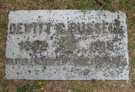 Tombe de Dewitt - Dewitt's grave - FindaGrave.com