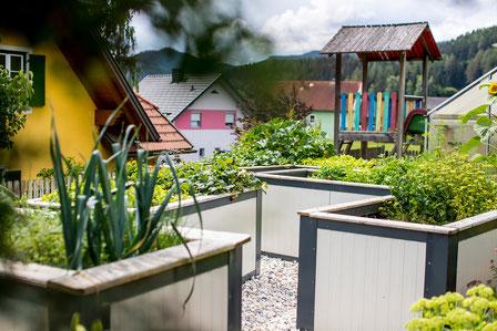 Eigener Kräutergarten, Halbpension Urlaub Mariahof