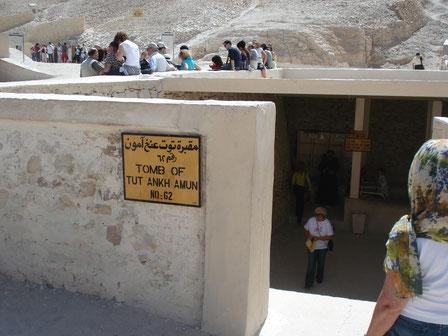 KV 62; Tutankhamon; Valle de los Reyes; Howard Carter; Naty Sánchez Ortega; Juan Friedrichs;