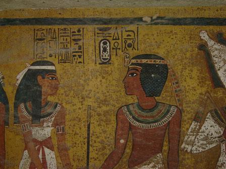 KV 62; Tutankhamon; Valle de los Reyes; Egipto; Reino Nuevo;  Naty Sánchez Ortega;