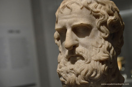 Eurípides; Teatro; tragedia griega; Grecia clásica; Naty Sánchez Ortega; arte; escultura; literatura;