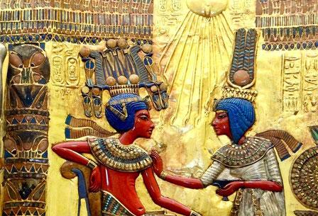 Ankhesenamon; Tutankhamon; Valle de los Reyes; Dinastía XVIII; Egipto; Naty Sánchez Ortega;