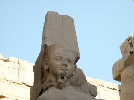 Amón; Karnak; Tebas; Egipto; Tutankhamon; Reino Nuevo; Naty Sánchez Ortega;