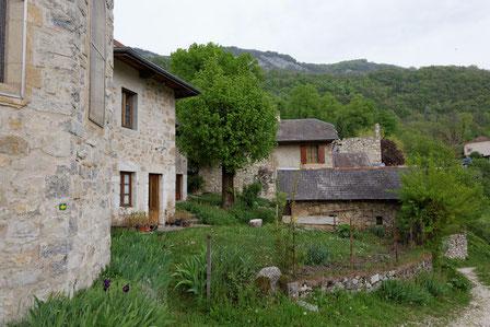 Le village de Monthoux à Saint Jean