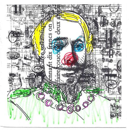 Un des 20 avatars du dessin retouché.