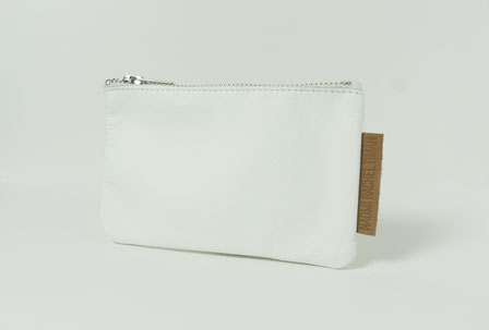 recycled leather wallet black