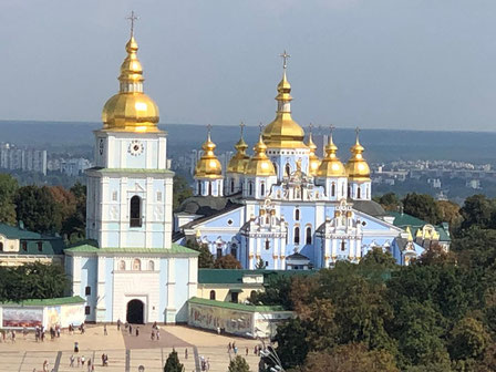 St Michael's Golden-Domed Monastery
