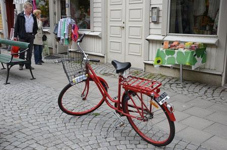 Velofahren in Stockholm