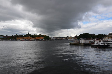 Stockholm bei Regen