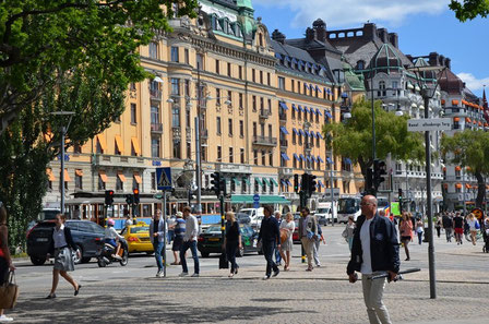 Stockholms Strassen / Stadthaus / Parks