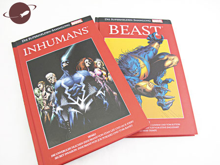 inhumans beast comic superhelden sammlung marvel