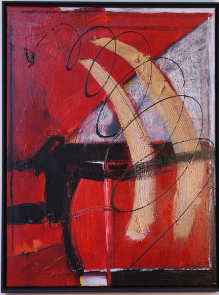 """""""Schreg durch die Helligkeit""""   60x80   Acryl auf Leinwand   2006"""
