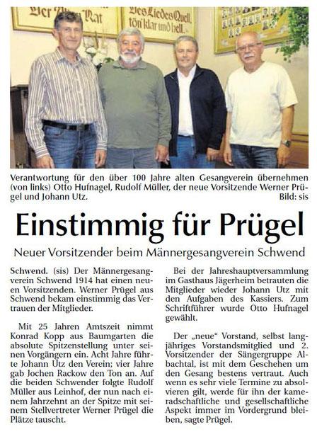 Sulzbacher Zeitung 25.10.2017