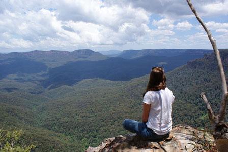 Traumhafte Aussicht im Nationalpark in Australien