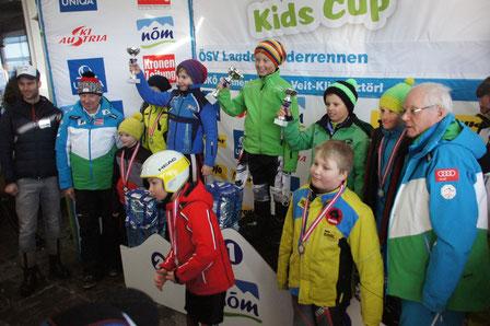 Florian Hackl, 3. Rang beim NÖM Kids Cup